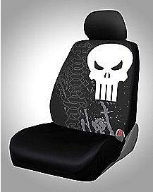 Punisher Seat Cover - Marvel Comics