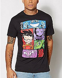 Group Teen Titans T Shirt