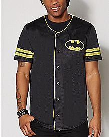 Batman Baseball Jersey - DC Comics