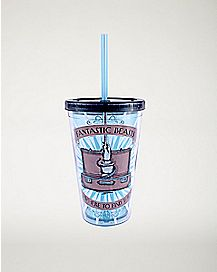 Fantastic Beasts and Where To Find Them Cup With Straw - 16 oz