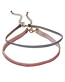 Choker Necklaces - 2 Pack
