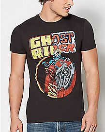 Ghost Rider T Shirt - Marvel Comics