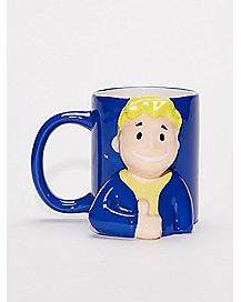 Vault Boy Coffee Mug 20 oz - Fallout
