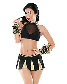 Sexy Cheerleader Lingerie Set