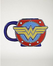 Molded Wonder Woman Mug - 20 oz