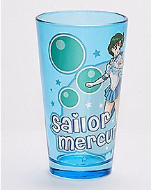 Sailor Mercury Pint Glass 16 oz. - Sailor Moon