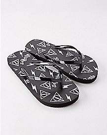 Harry Potter Flip Flops - Harry Potter and the Deathly Hallows