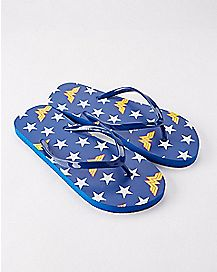 Wonder Woman Flip Flops - DC Comics