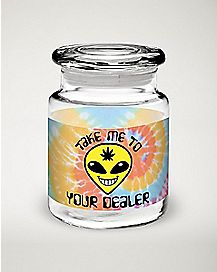 Alien Storage Jar - 6 oz
