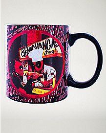 Chimichangas Deadpool Coffee Mug 20 oz - Marvel