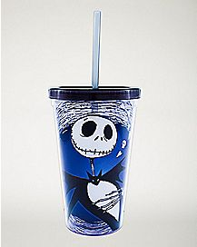 Jack  Cup with Straw 16 oz. - Nightmare Before Christmas