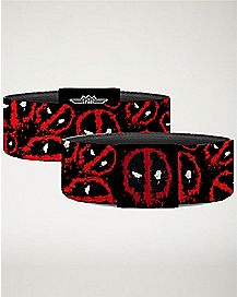 Splatter Deadpool Bracelet - Marvel Comics