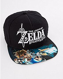 Breath of the Wild Snapback Hat - The Legend of Zelda
