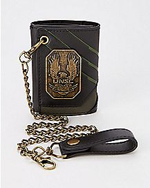 UNSC Badge Halo Chain Wallet