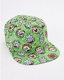 All Over Print Rick and Morty Snapback Hat
