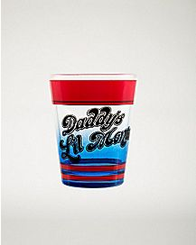 Daddy's Lil Monster Shot Glass 1.5 oz. - Suicide Squad