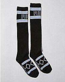 Puddin Harley Quinn Knee High Socks - DC Comics