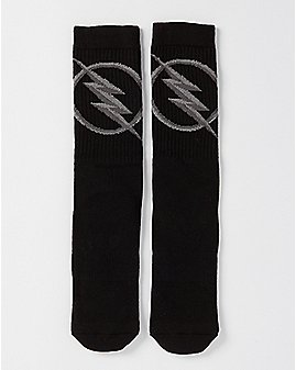 Zoom Flash Crew Socks - DC Comics