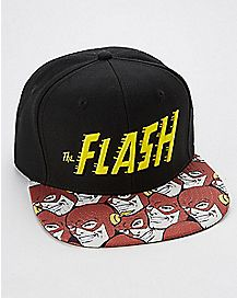 The Flash Comic Book Snapback