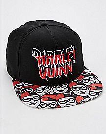 Harley Quinn Comic Book Snapback