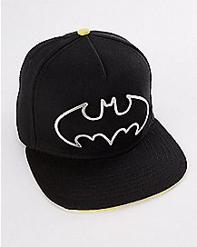 Metal Batman Logo Snapback - DC Comics