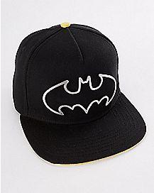 Metal Batman Logo Snapback - DC Comics