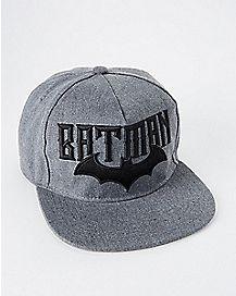Embroidered Batman Snapback Hat - DC Comics