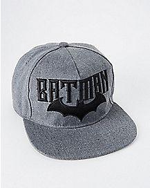 Embroidered Batman Snapback Hat - DC Comics