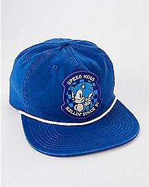 Sonic The Hedgehog Snapback Hat