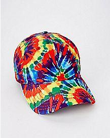 Tie Dye Dad Hat