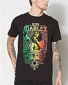 World Tour Bob Marley T Shirt