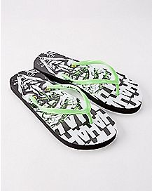 The Joker Flip Flops - DC Comics