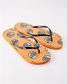 Dragon Ball Z Flip Flops