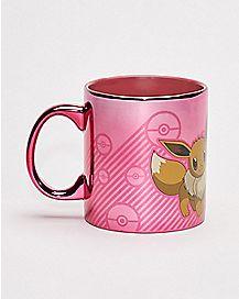Eevee and Pikachu Mug 20 oz - Pokemon