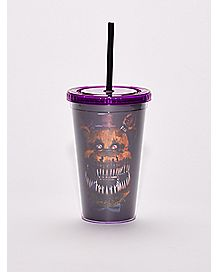 Five Nights At Freddy's Cup With Straw - 16 oz