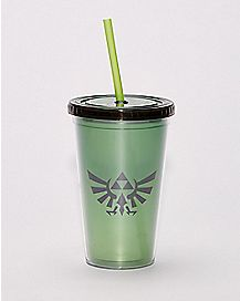 Zelda Cup with Straw - 16 oz