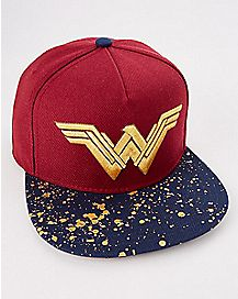 Wonder Woman Snapback Hat - DC Comics