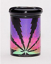 Leaf Blacklight Storage Jar - 3 oz.