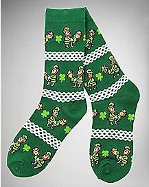 Ugly Lovin' Leprechaun Socks