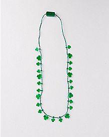 Light Up Clover Necklace