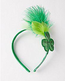 St. Pats Feather Headband