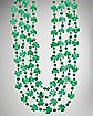 Mini Shamrock Bead Necklace