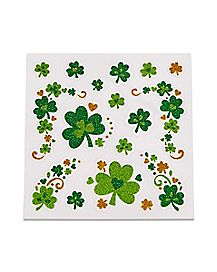 Shamrock Body Jewelry Stickers