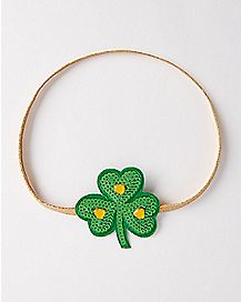 Sequin Shamrock Hairband