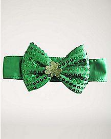 St. Patrick's Day Bowtie Choker