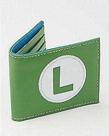 Nintendo Luigi Bifold Wallet