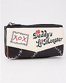Daddy's Lil Monster Harley Quinn Flap Wallet - DC Comics