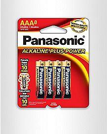 Panasonic AAA Batteries - 8 Pack
