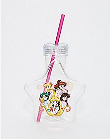 Star Sailor Moon Cup with Straw - 24 oz.