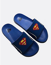 Slide Superman Sandals - DC Comics